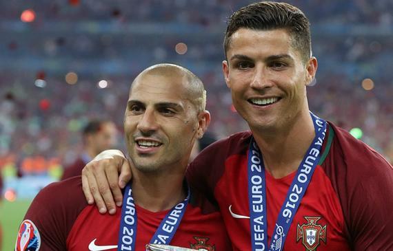 葡萄牙大将:足球场上我只服一个人 那就是C罗