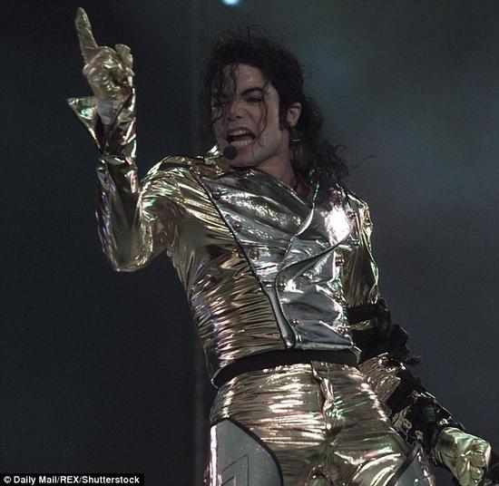 迈克尔-杰克逊有舍我其谁的气质