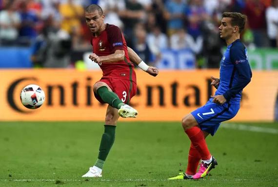 法名将:欧洲杯最佳不该给格里兹曼 该给佩佩