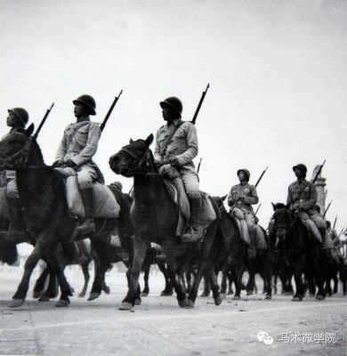 最可爱的人 中国骑兵部队老照片
