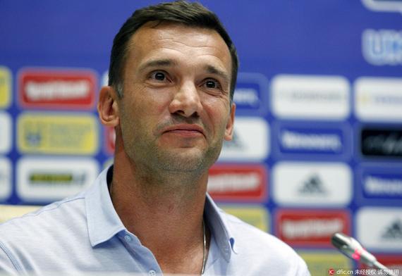 舍甫琴科就任乌克兰主帅 欧洲杯曾任球队助教