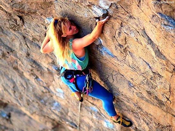 攀岩运动_攀岩运动矢量矢量图__妇女女性_矢量人物_矢