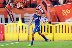 中超-莫雷诺破门 申花1-0鲁能14年首次客胜对手