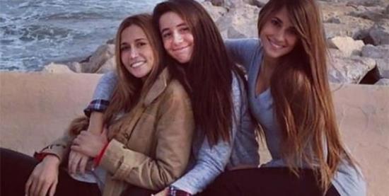安东内拉与朋友和妹妹