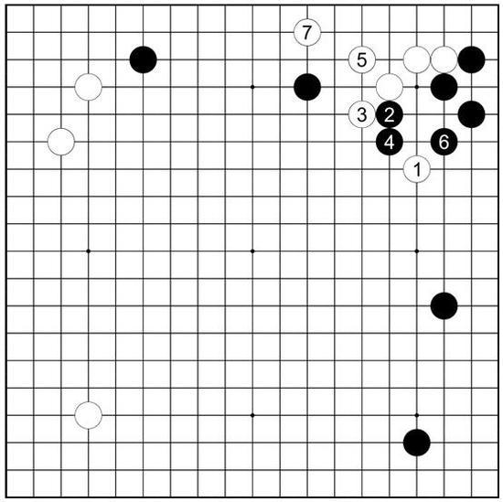 图77黑反击