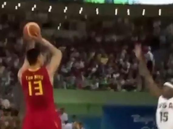 中国男篮08奥运十佳球