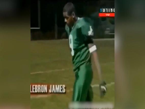 詹皇高中橄榄球视频曝光