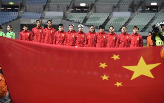 中国女足期待奥运创佳绩