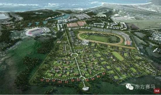 """""""加勒比海之珠""""规划设计图"""
