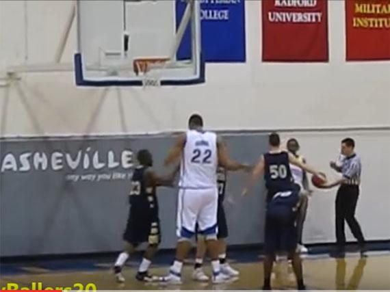 篮球场上的五大巨人