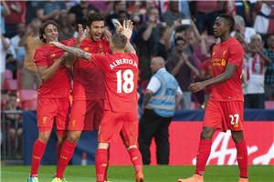 热身赛-梅西中框 红军双新援进球 巴萨0-4利物浦