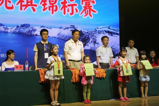 64格男子8岁组颁奖