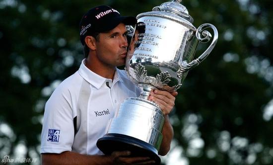 2008年哈灵顿夺得年度大满贯第二冠--PGA锦标赛冠军