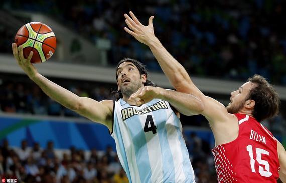 斯科拉23分阿根廷胜克罗地亚