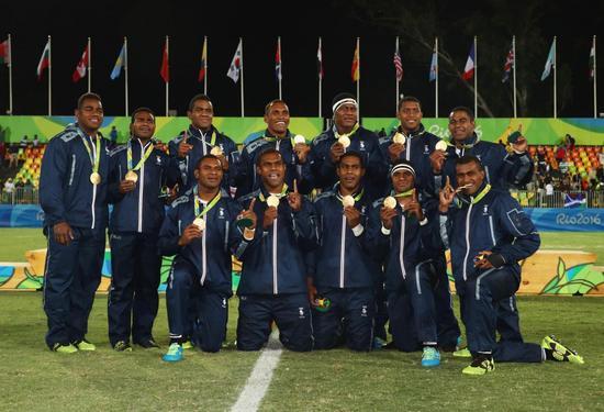 他们夺得斐济历史首金