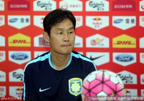 崔龙洙:恒大确是我最想战胜的对手 苏宁绝不退缩