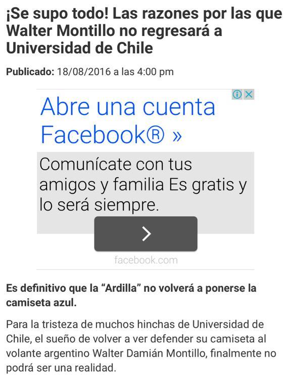 智利媒体:蒙蒂略无缘重返智利大学 去向仍未定