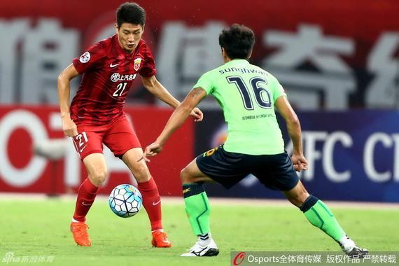 视频录播-亚冠1/4决赛首回合 上港vs全北下半场