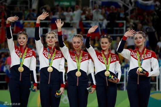 俄罗斯艺术体操梦之队