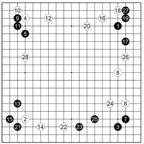 参考谱15廖行文执黑vs李世�h