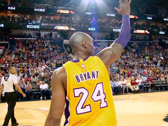 NBA官方视频为科比庆生