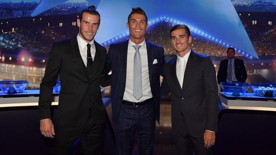上赛季欧洲最佳球员前三名