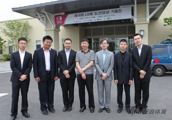 第十八届LG杯韩国棋手首次无缘八强