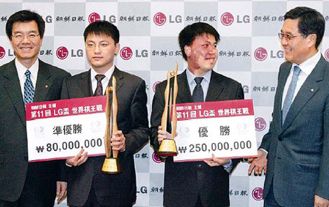 周俊勋的LG杯洪荒之力