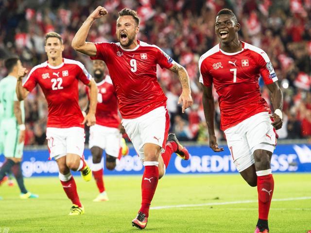 视频集锦-C罗因伤缺阵纳尼中柱 瑞士2-0完胜葡萄牙