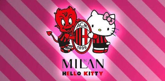 Hello Kitty 合作AC米兰