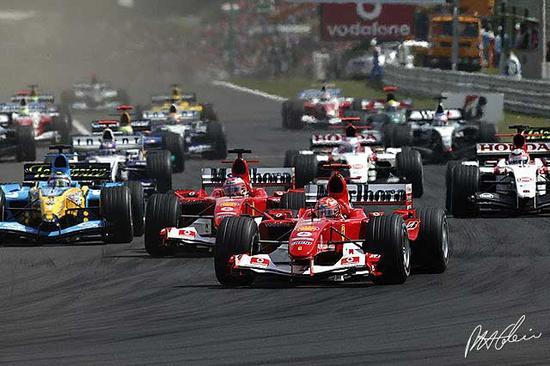 2005赛季V10时代的F1