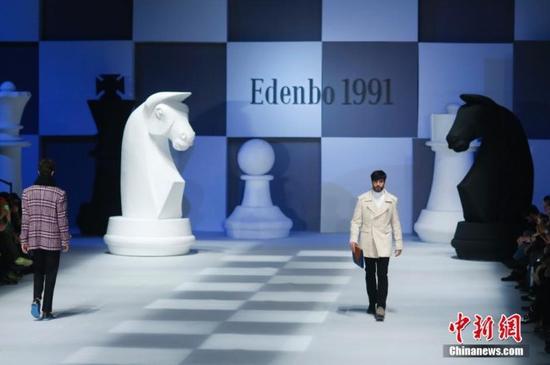 国际象棋已经流行到了时尚界