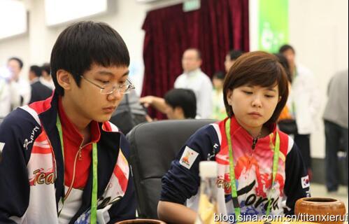 朴廷桓李瑟娥曾在亚运会上疑似填子