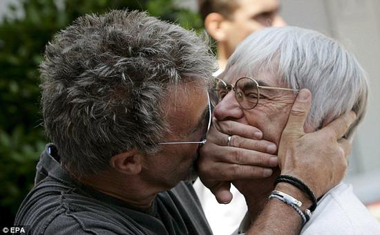 乔丹与伯尼,F1的一对儿活宝!