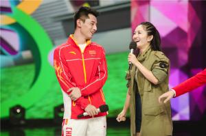 张继科与谢娜同台互动甜蜜对诗 遭陈伟霆告白