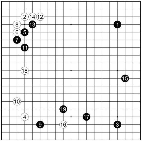参考谱35 内田修平执黑vs羽根直树