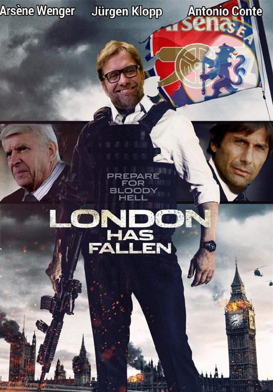 伦敦沦陷…