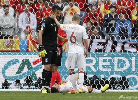 西班牙在欧洲杯赛场也没能走太远