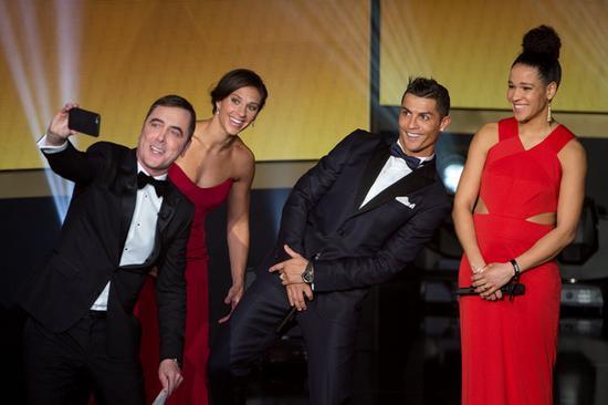 FIFA金球奖的颁奖典礼