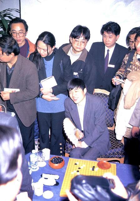1996年马晓春战胜曹薰铉再次打入东洋证券杯决赛