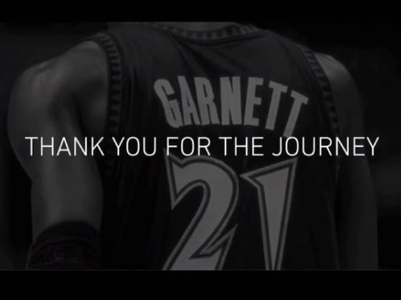 加内特正式宣布退役