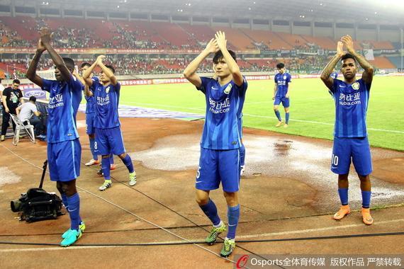 苏媒:再累苏宁球员都要挺住 双线都还有夺冠希望
