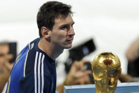 梅西无缘巴西世界杯冠军