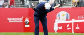菲尔普斯打高尔夫的热身动作你熟悉吗