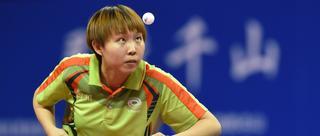 全国锦标赛朱雨玲女单三连冠