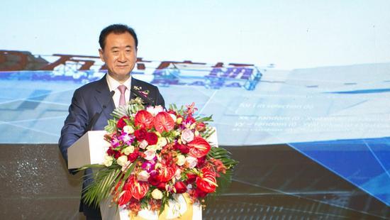王健林发表讲话