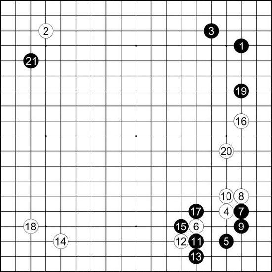 谱38 土屋秀和 执黑vs本因坊丈和