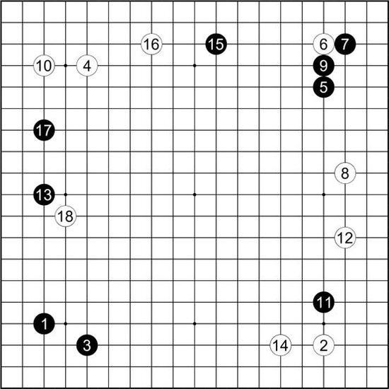 谱36 户谷道和 执黑vs伊藤松次郎