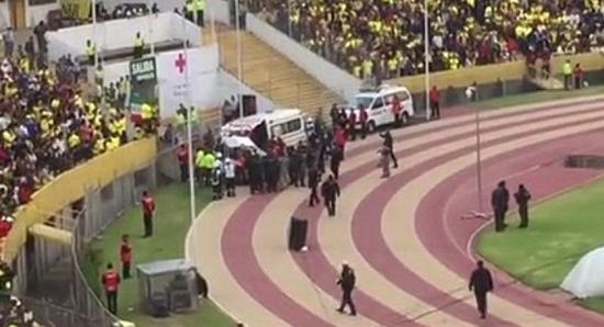 警察拦截救护车