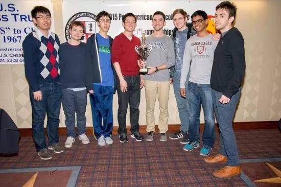 哥伦比亚大学国际象棋代表队